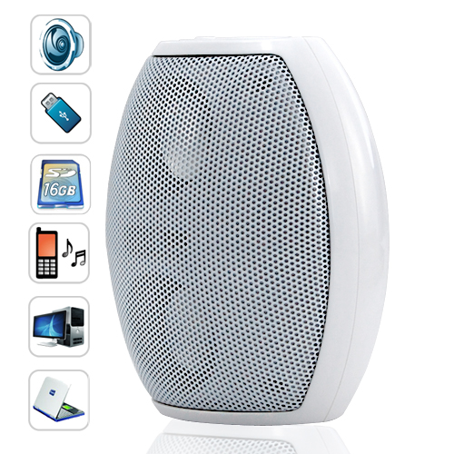 Audio Blaster Mini Speaker with MP3 Player